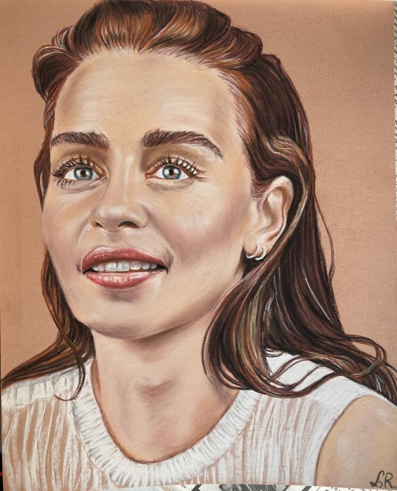 Emilia Clarke par Mentine